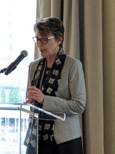GPC President Cindy Brown at UN Headquarters